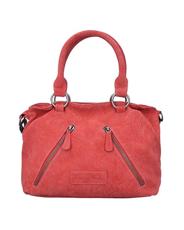 Fritzi aus Preußen Luisa Kuba Handtasche 34 cm rot