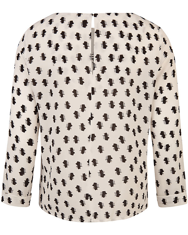 WE Fashion Bluse schwarz/weiß