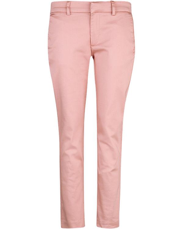 WE Fashion 7/8 Chinohose rosa