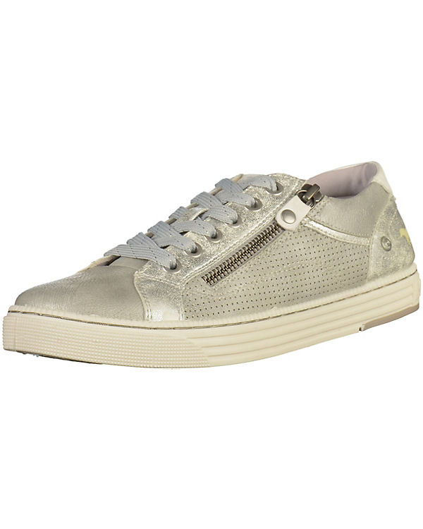 MUSTANG Sneakers silber