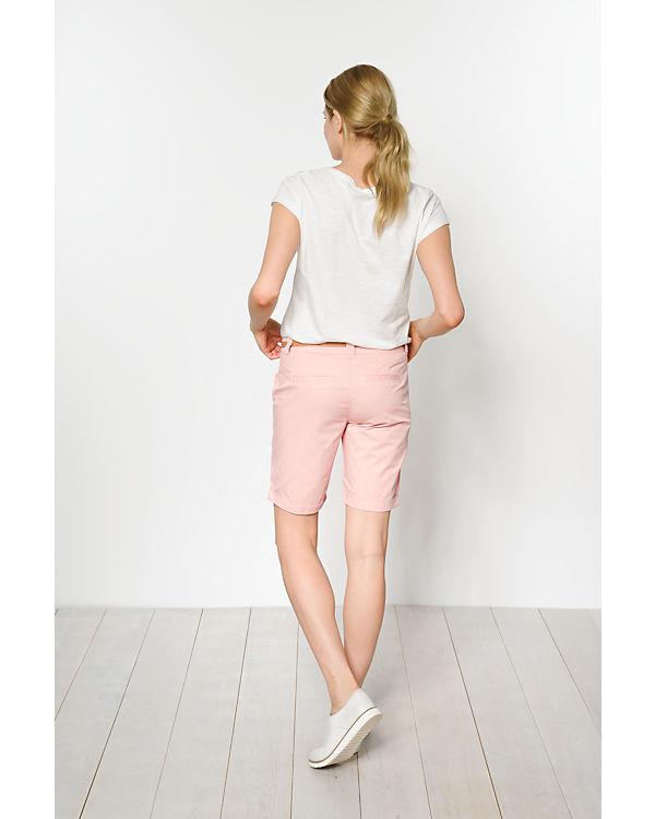 VERO MODA Bermuda Shorts rosa