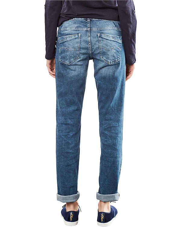 Q/S Jeans Straight blue denim