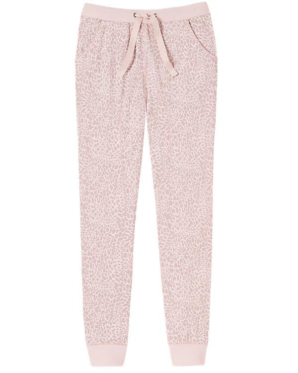 SCHIESSER Schlafhose rosa