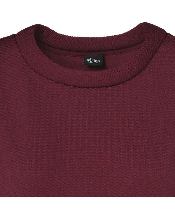 s.Oliver BLACK LABEL 3/4-Arm-Shirt rot
