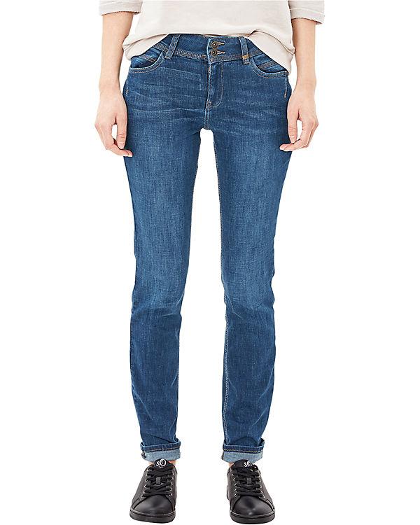 s.Oliver Jeans Shape Slim blue denim
