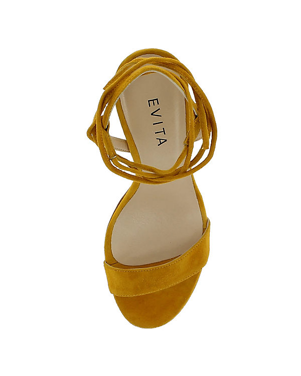 Evita Shoes Sandaletten gelb