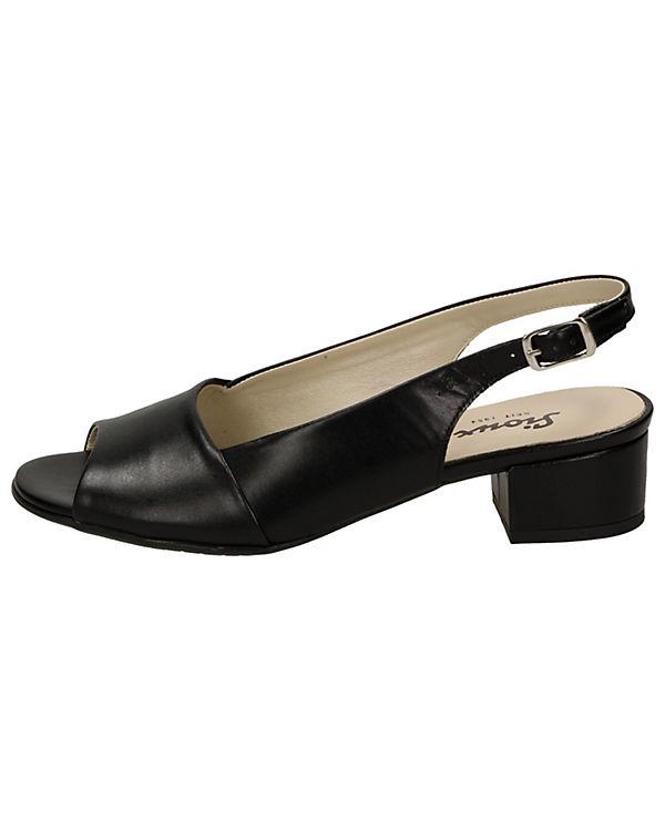 Sioux Zippora Sandaletten schwarz