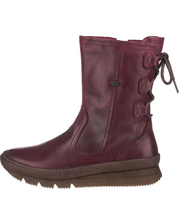 camel active Authentic 73 Stiefel dunkelrot