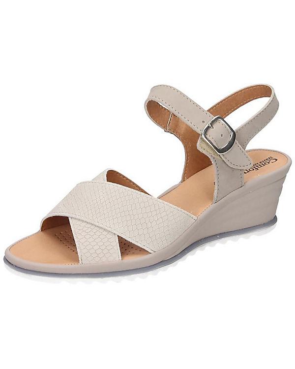 Comfortabel Sandaletten beige