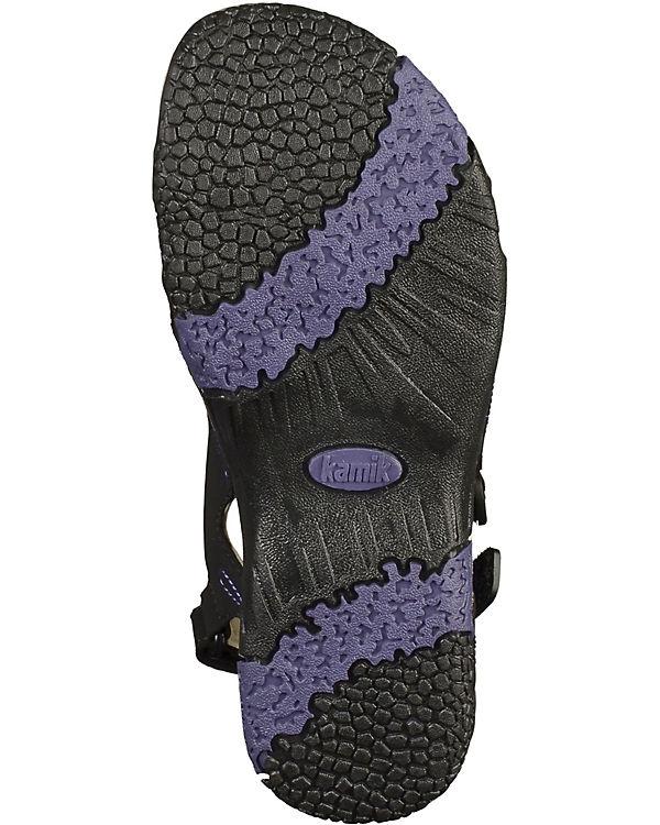 kamik Sandalen schwarz