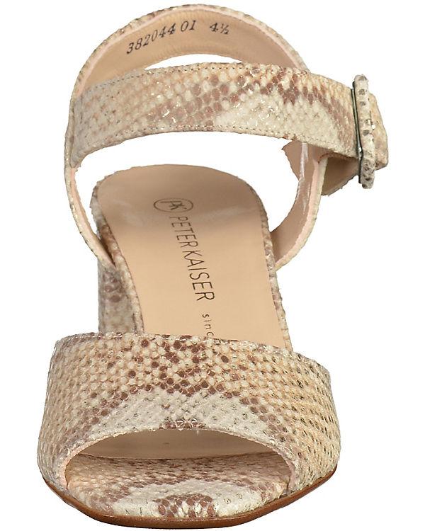 PETER KAISER Sandaletten beige