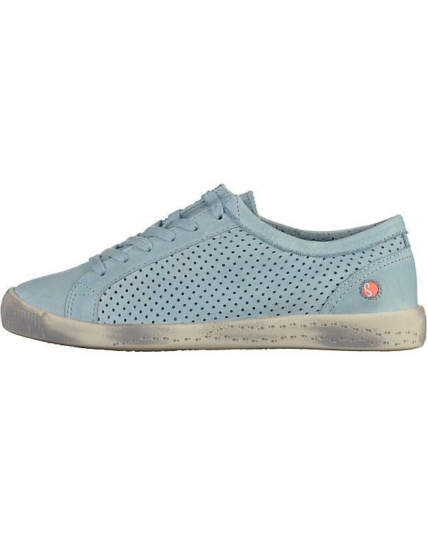 Sneakers hellblau