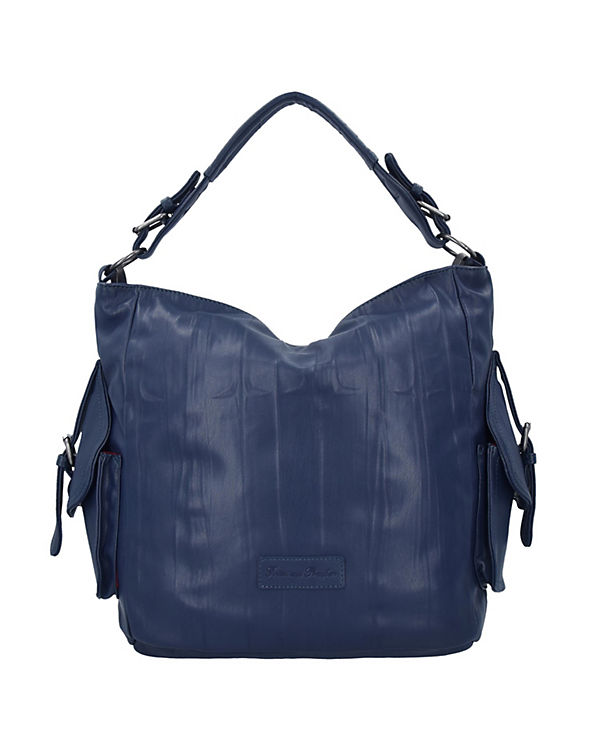 Fritzi aus Preußen Joanna Nappa Shopper Tasche 44 cm blau