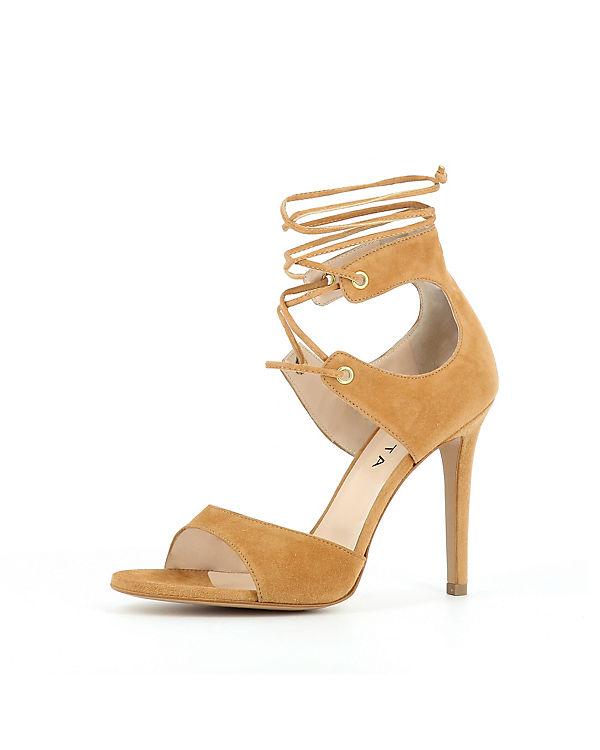 Evita Shoes Sandaletten cognac