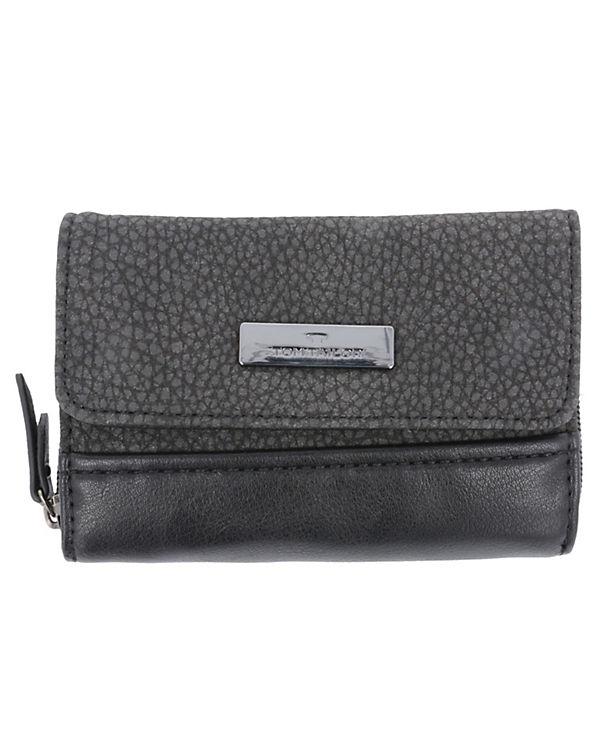 TOM TAILOR Ciara Wallet Women Geldbörse 14 cm schwarz