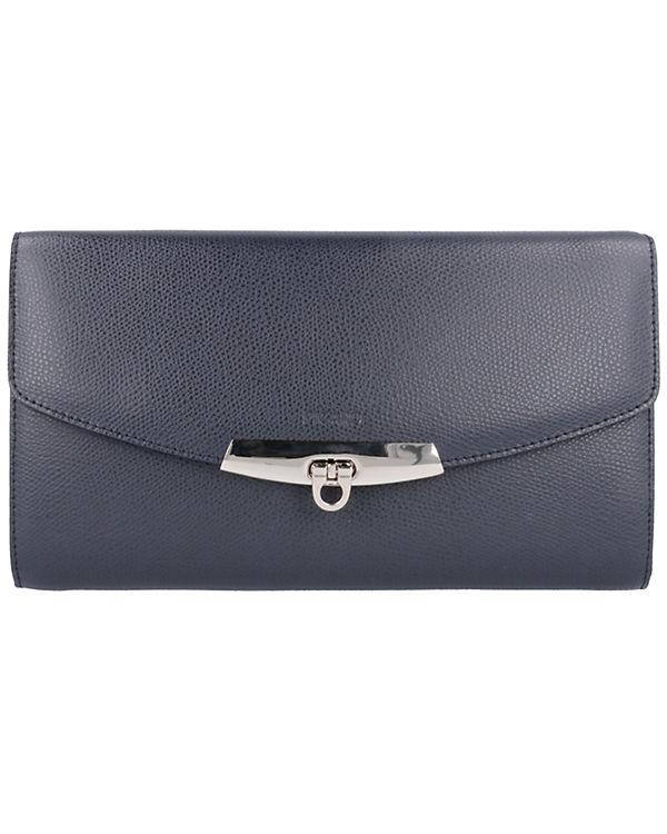 PICARD Dolce Vita Geldbörse Clutch Leder 22 cm blau