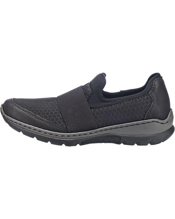 rieker Sneakers schwarz