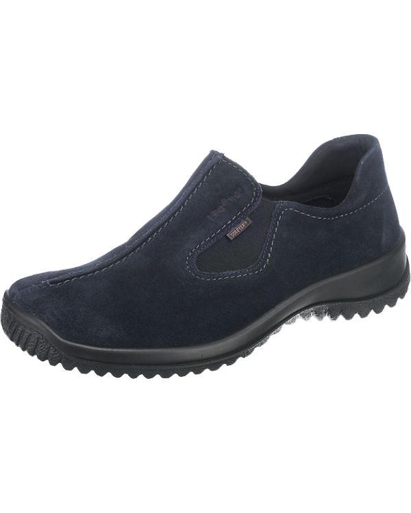 Legero Softshoe Slipper blau