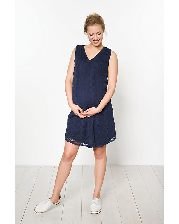 Colline Umstandskleid blau