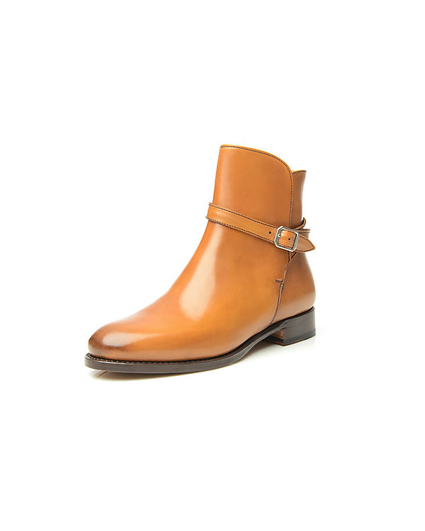 SHOEPASSION No. 201 Stiefeletten cognac