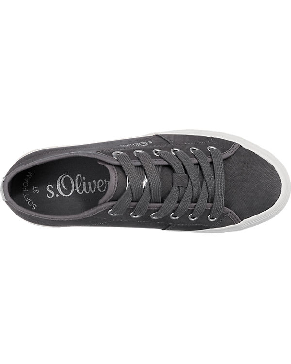 s.Oliver Sneakers anthrazit
