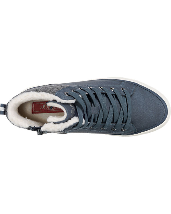 s.Oliver Sneakers dunkelblau