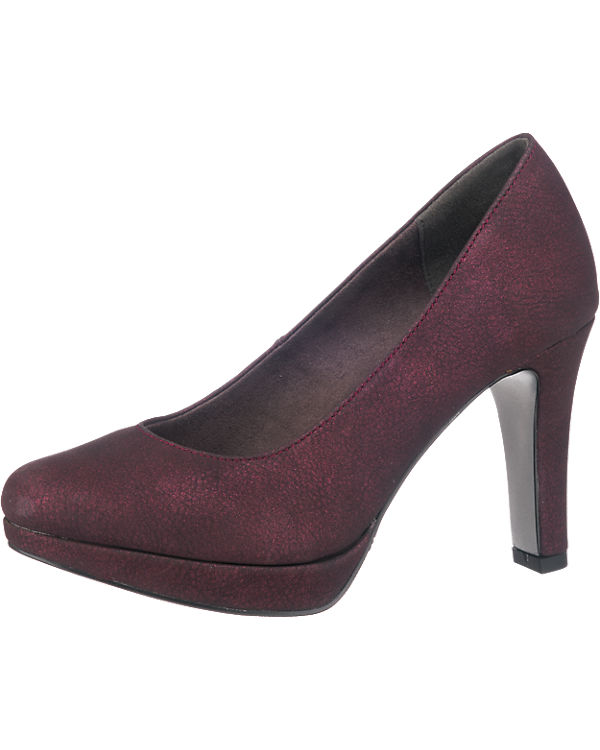 s.Oliver Pumps bordeaux