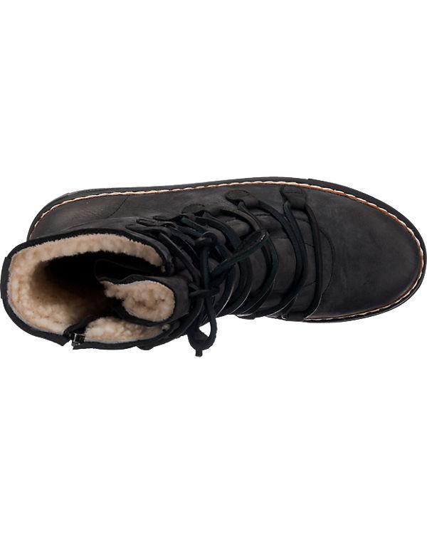 Blackstone Stiefeletten schwarz