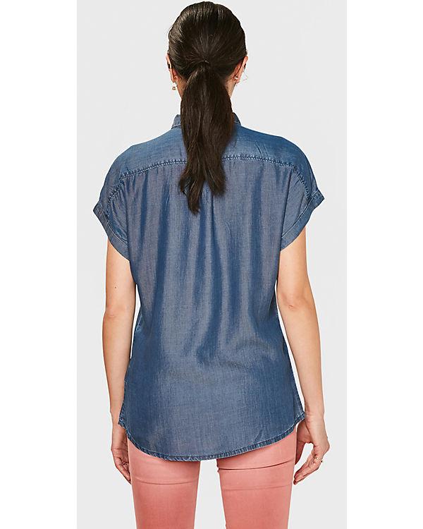WE Fashion Jeansbluse blau