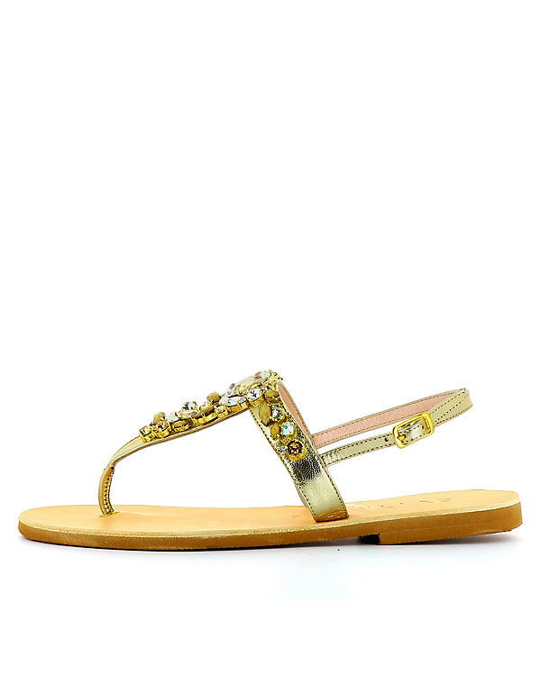 Evita Shoes Sandalen gold