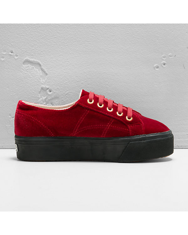 Superga® Velvetw Sneakers bordeaux