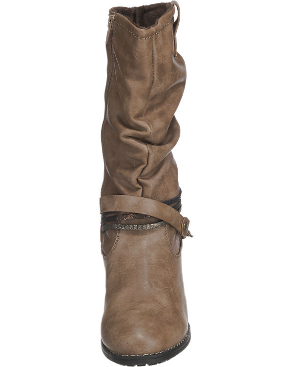 bruno banani Stiefel grau