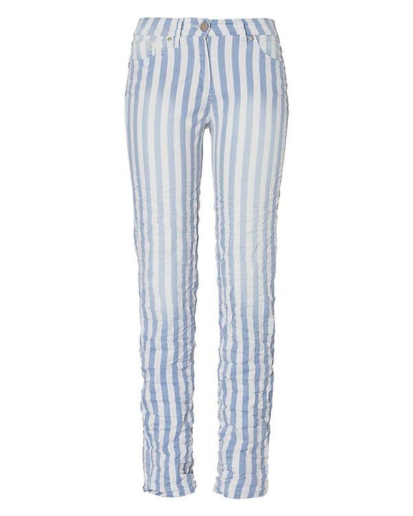 RECOVER pants Hose blau