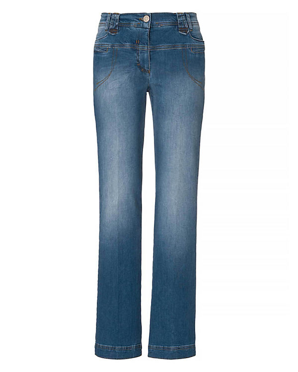 RECOVER pants Jeans Straight blau