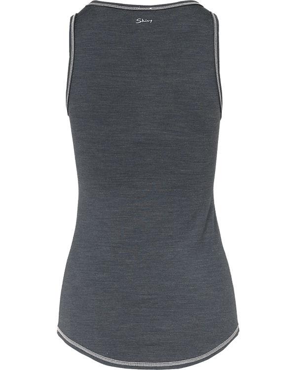 Skiny Unterhemd Active Wool Women grau