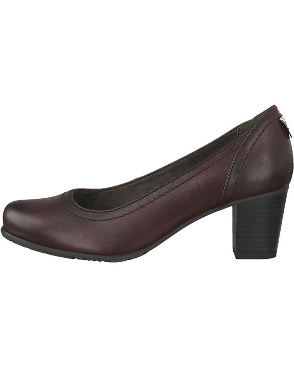 Jana Pumps bordeaux