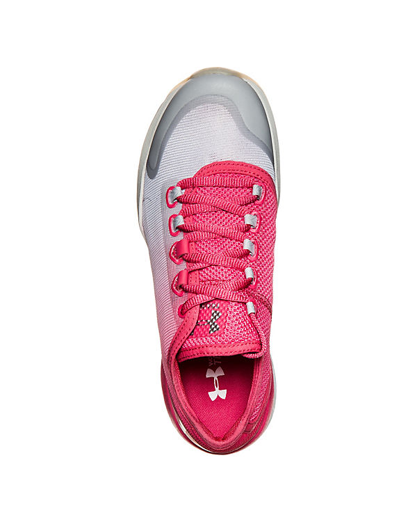Under Armour Charged Push Trainingsschuhe rot-kombi