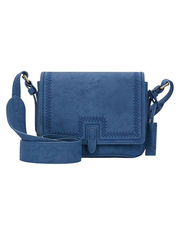 ESPRIT Piper Schultertasche 25 cm blau