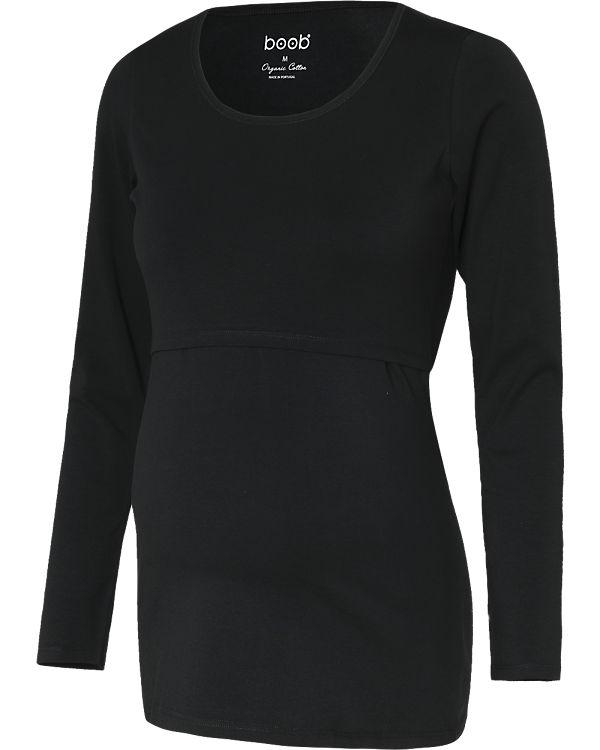 boob Stilllangarmshirt, Organic Cotton schwarz