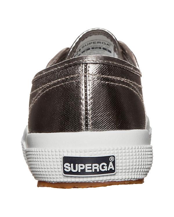 Superga 2750 Cotmetu Sneakers silber
