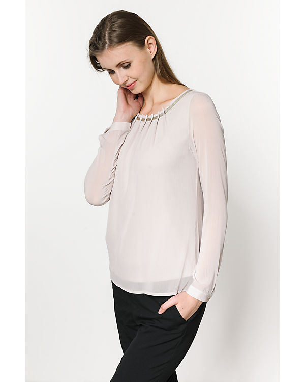 comma Bluse beige