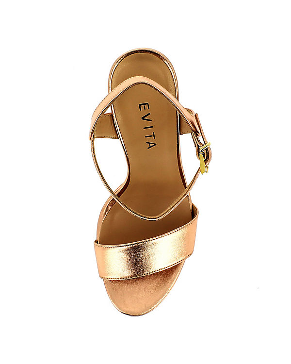 Evita Shoes Sandaletten bronze