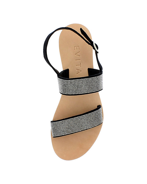 Evita Shoes Sandalen schwarz