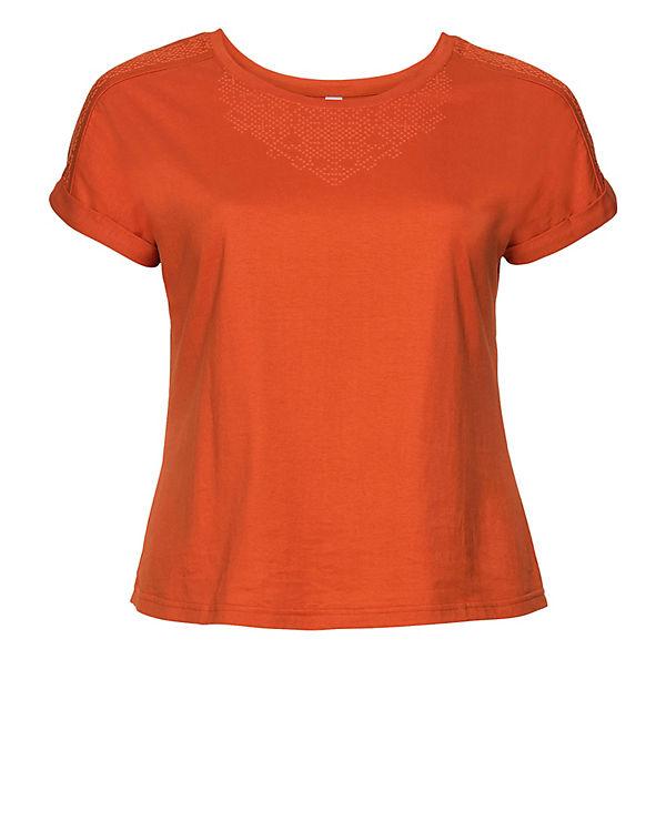 sheego T-Shirt orange