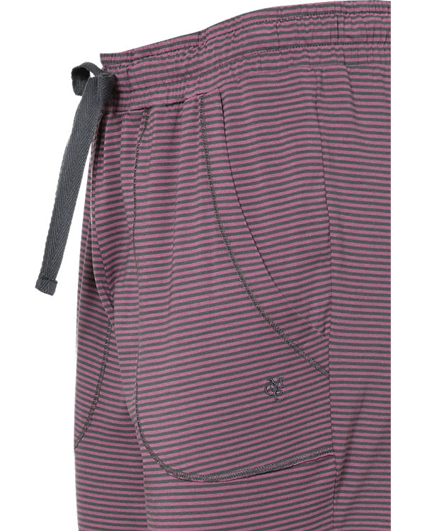 Marc O'Polo Body & Beach Schlafhose lila