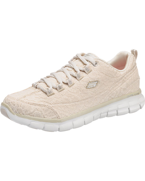 SKECHERS Synergy - Silky Sweet Sneakers weiß