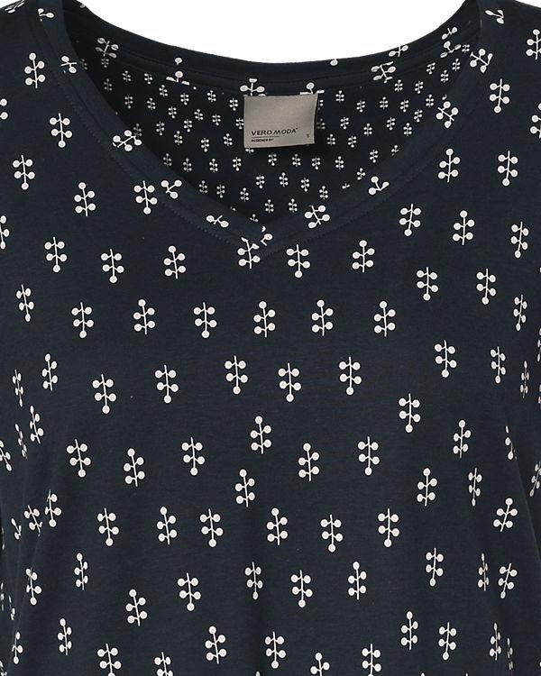 VERO MODA T-Shirt dunkelblau