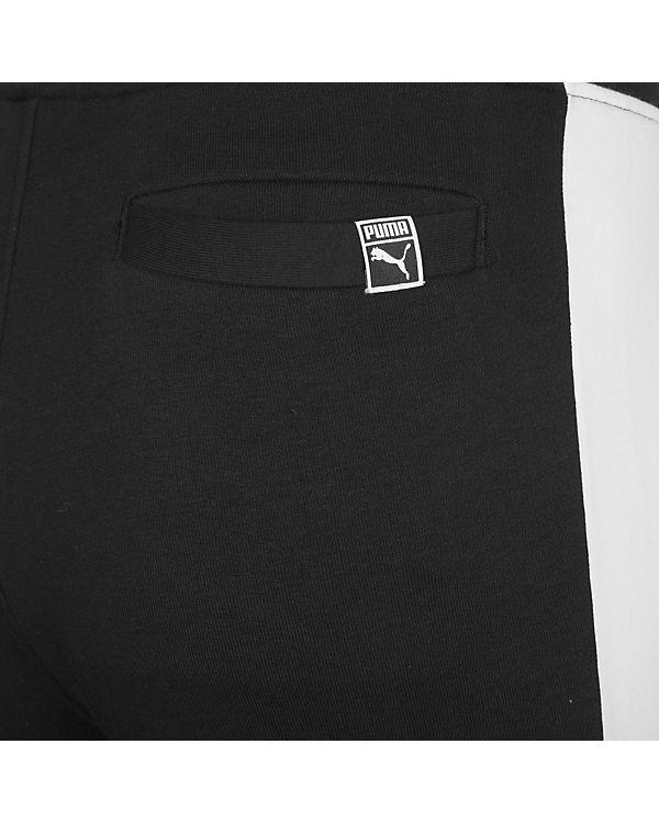 PUMA Trainingshose Archive Logo T7 schwarz