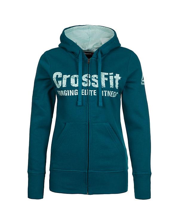 Reebok Trainingsjacke CrossFit blau
