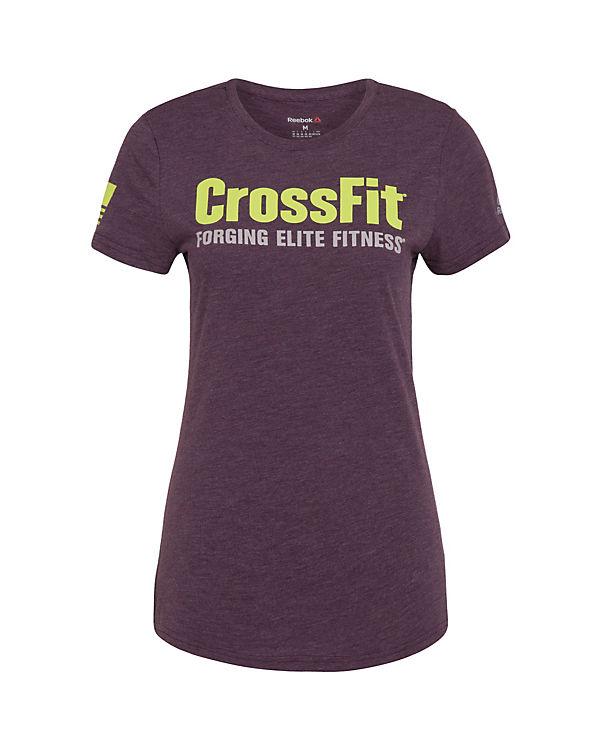 Reebok Trainingsshirt CrossFit Forging Elite Fitness lila